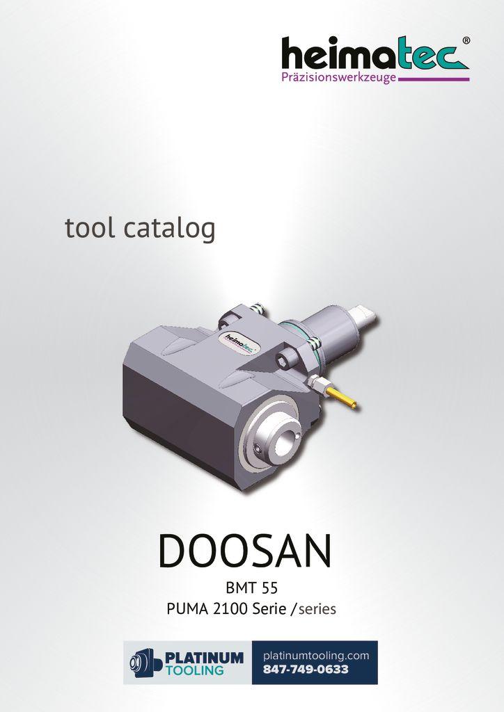 thumbnail of Doosan Puma 2100 BMT 55 Heimatec Catalog