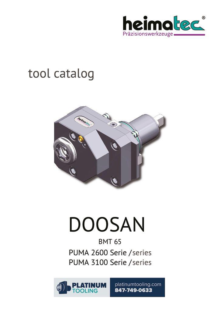 thumbnail of Doosan Puma 2600-3100 BMT 65 Heimatec Catalog