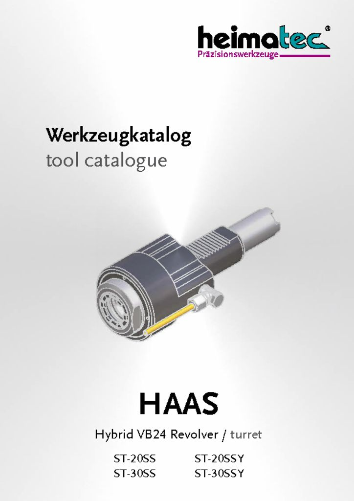 HAAS ST-20SS-SSY ST-30SS-SSY