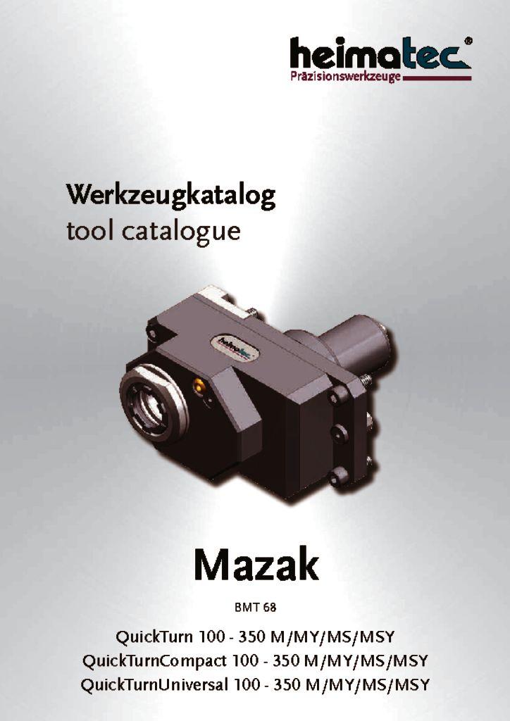 Mazak QT-QTC-QTU 100-350 M-MY-MS-MSY, BMT 68