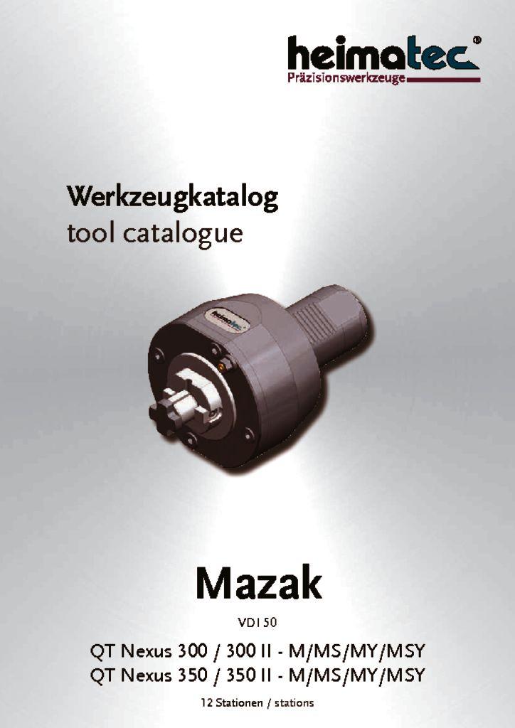 Mazak QTN 300 350 – 12_Stationen, VDI 50