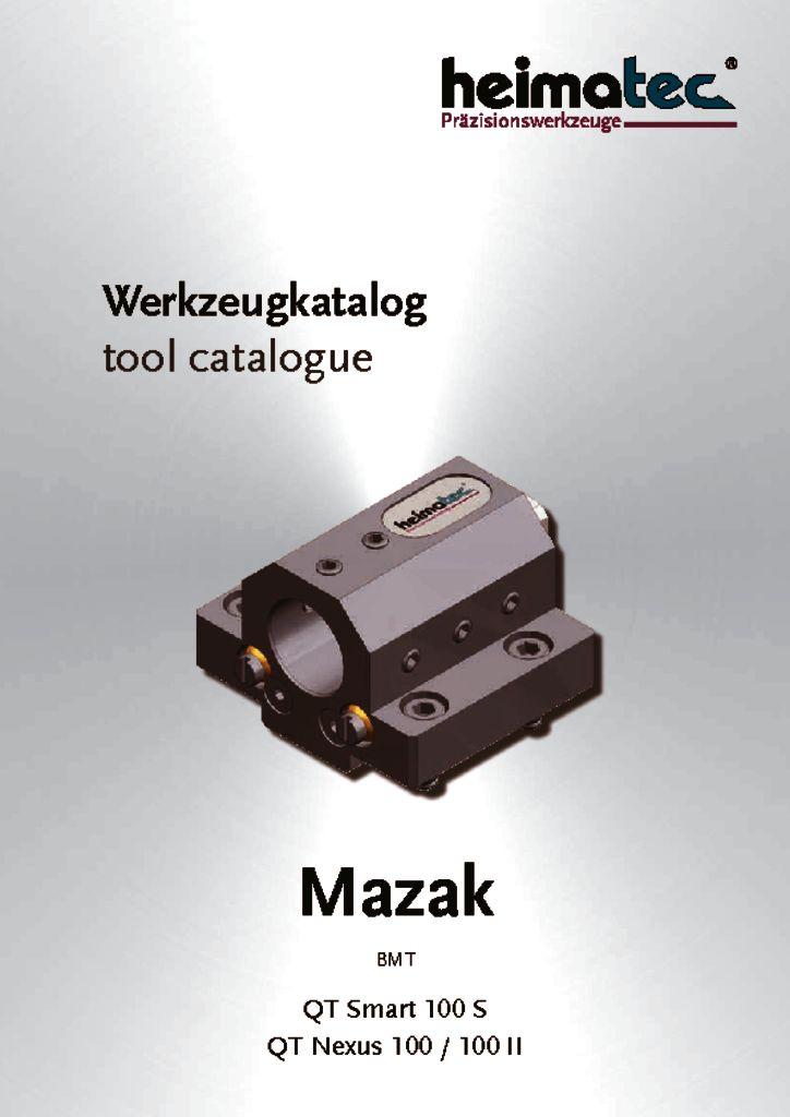 Mazak QTS 100S QTN 100, BMT