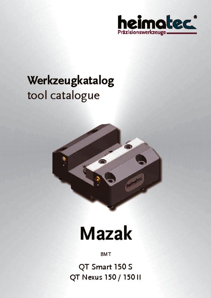 Mazak QTS 150S QTN 150II, BMT