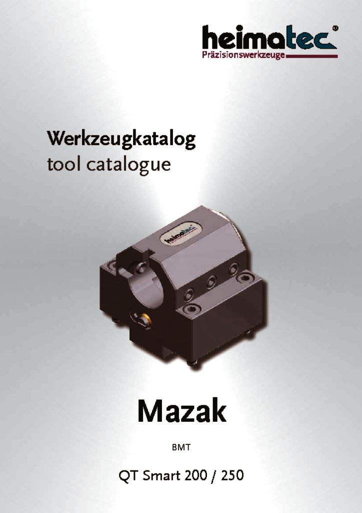 Mazak QTS 200 250, BMT