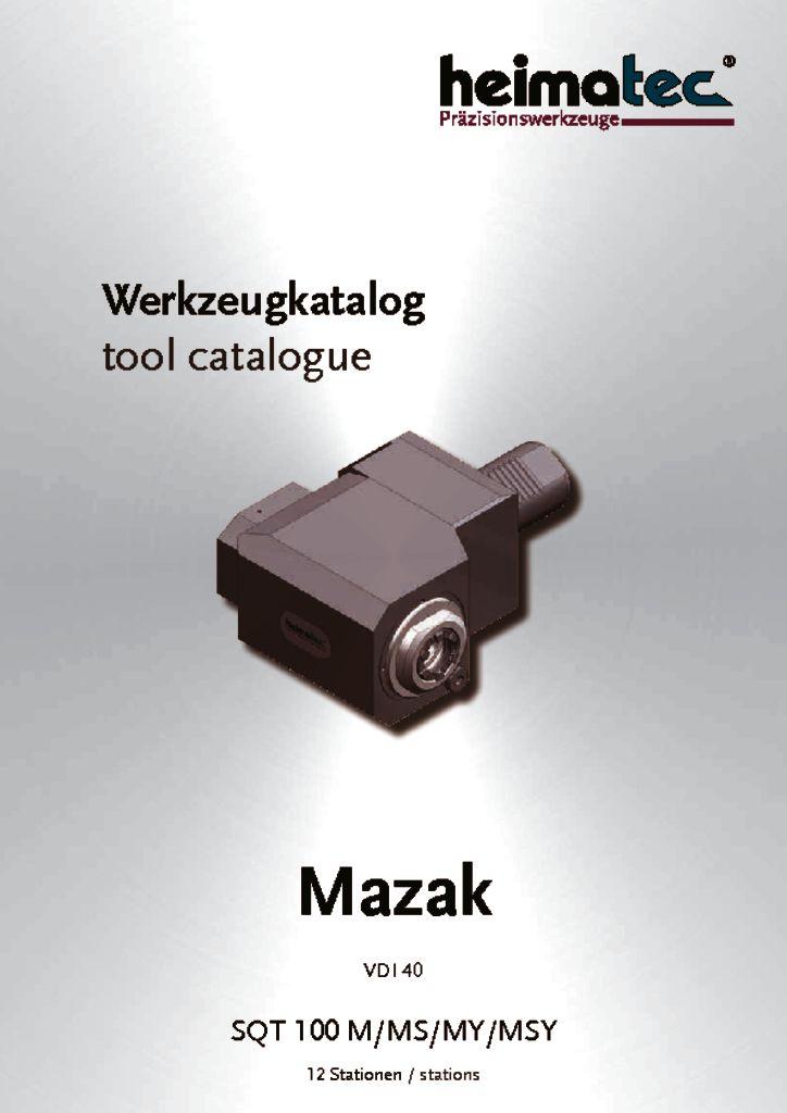 Mazak SQT 100 – 12 Stationen, VDI 40