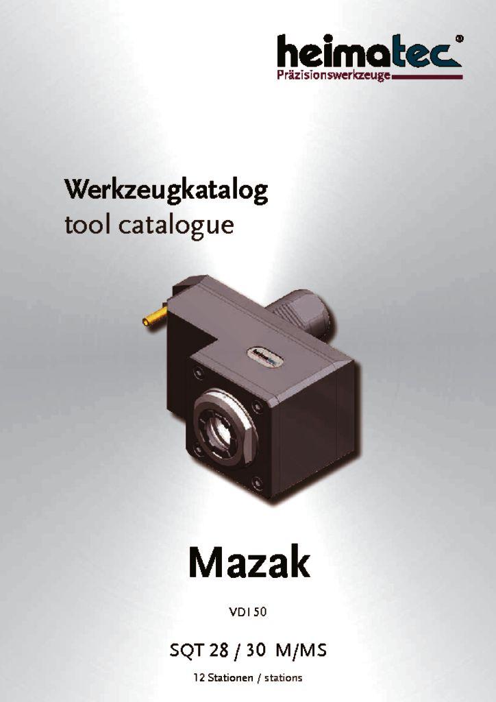 Mazak SQT 28 30 – 12 Stationen, VDI 50