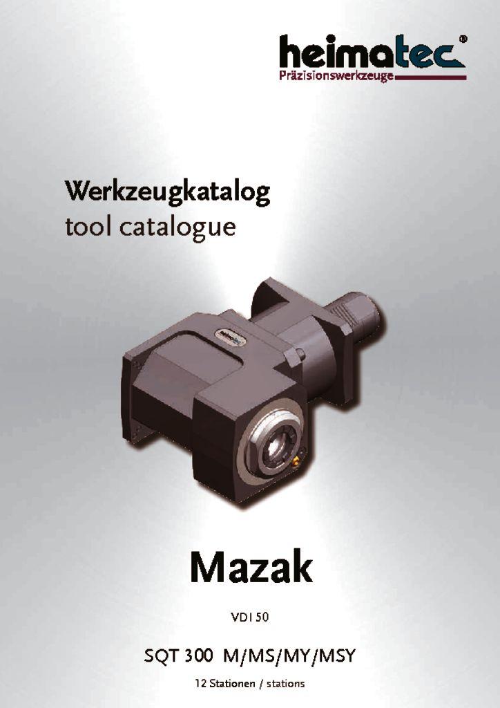 Mazak SQT 300 – 12 Stationen, VDI 50