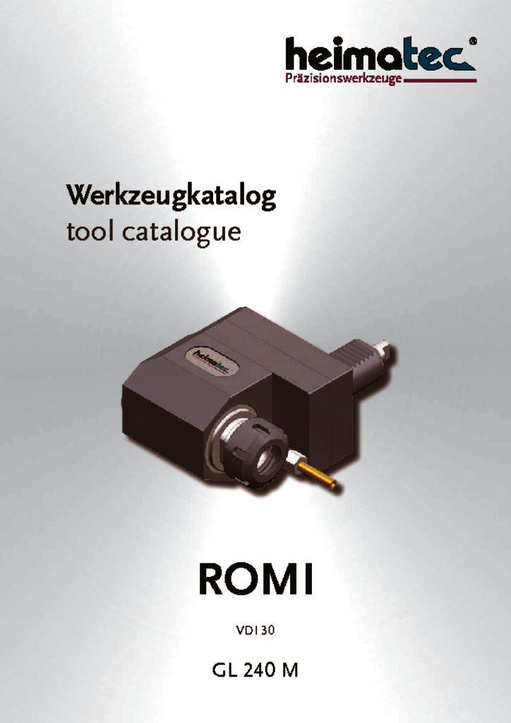 ROMI GL 240 M, VDI 30