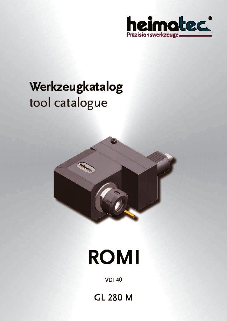 ROMI GL 280 M, VDI 40