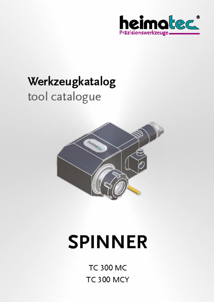 thumbnail of SPINNER_TC_300_MC_TC300MCY_heimatec_tool_catalogue