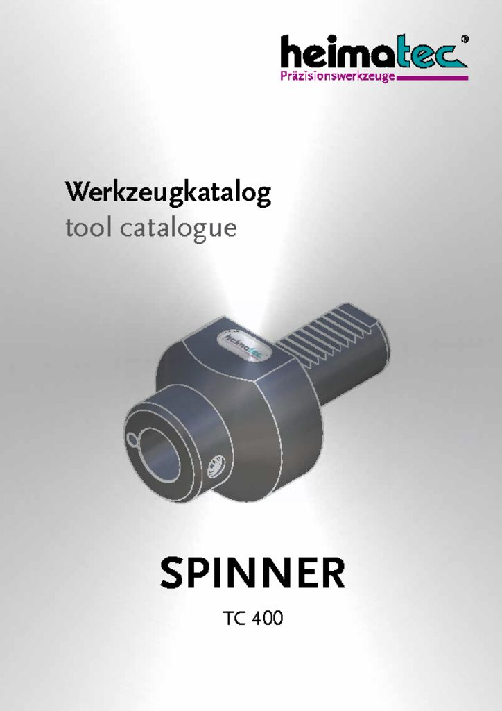thumbnail of SPINNER_TC_400_heimatec_tool_catalogue