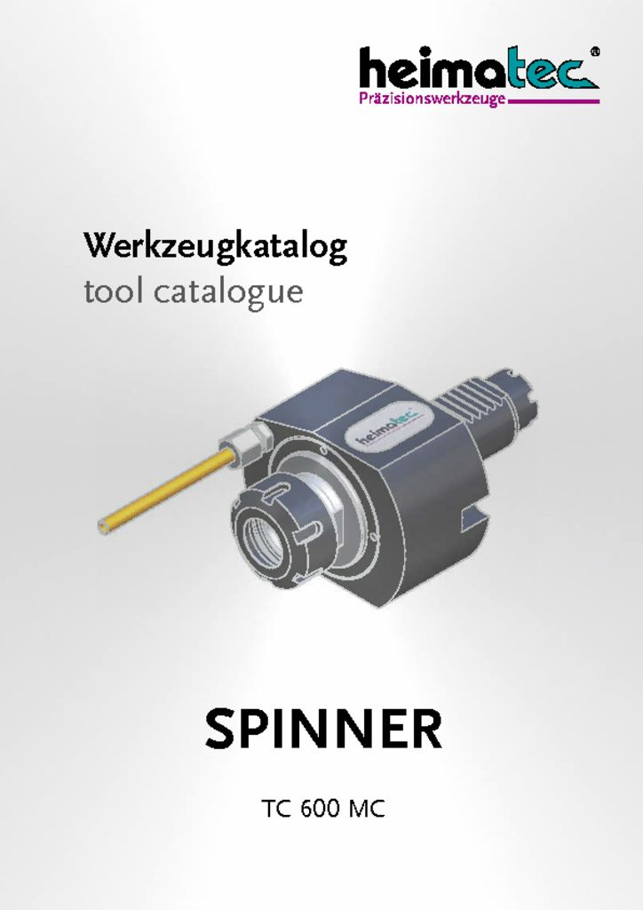 SPINNER TC 600 MC