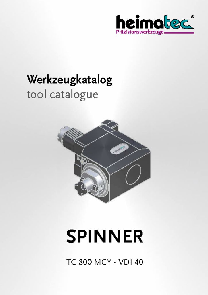 thumbnail of SPINNER_TC_800_MCY_VDI_40_heimatec_tool_catalogue