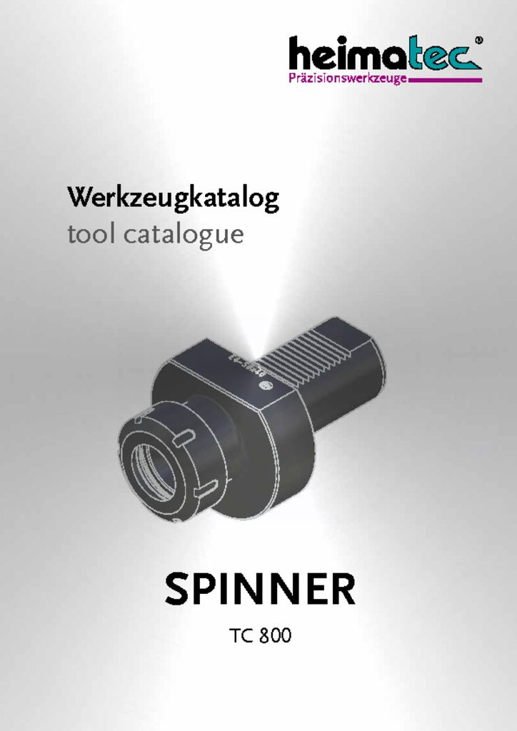 thumbnail of SPINNER_TC_800_heimatec_tool_catalogue