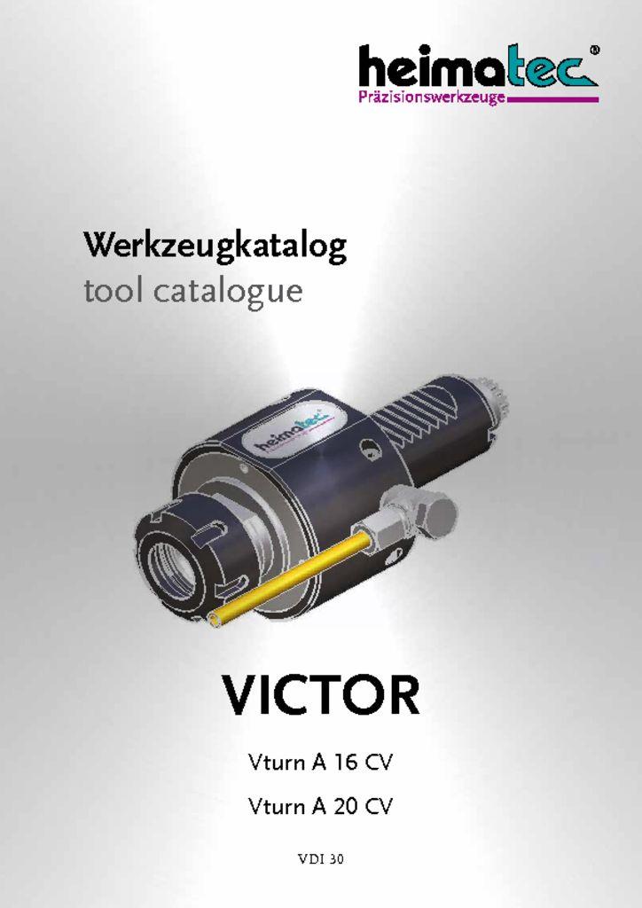 VICTOR Vturn A 16 – A 20 – CV – VDI 30
