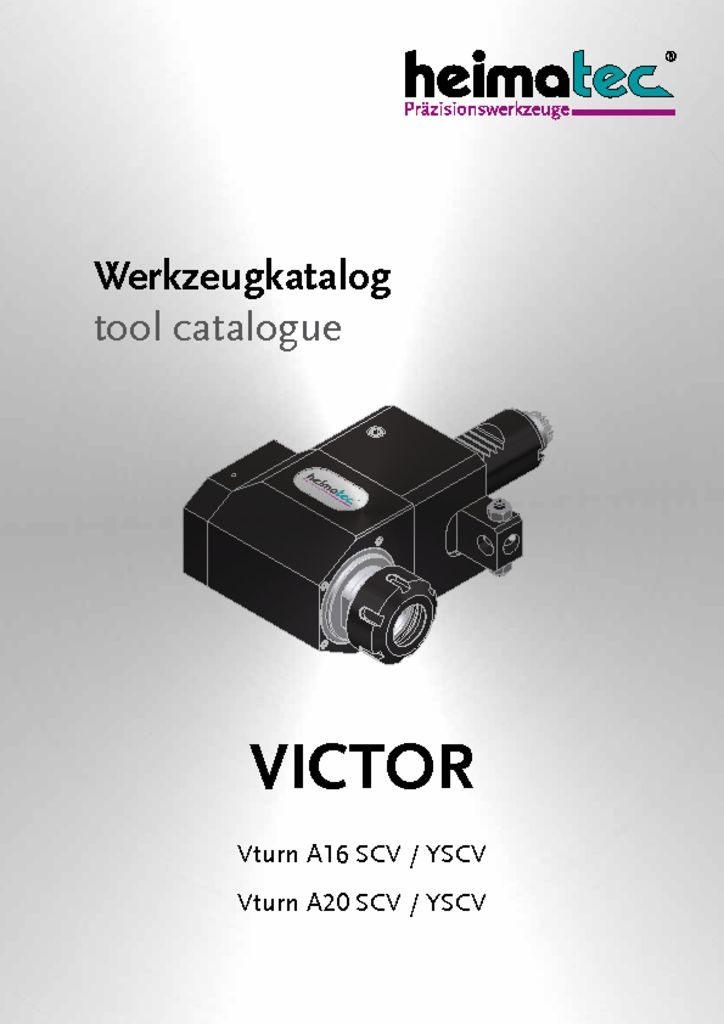 VICTOR Vturn A 16 – A 20 – SCV YSCV