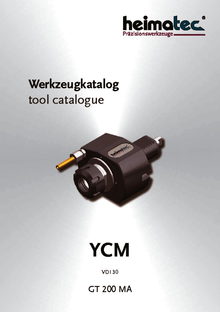 thumbnail of YCM_GT_200_MA_,_VDI_30_heimatec_tool_catalogue