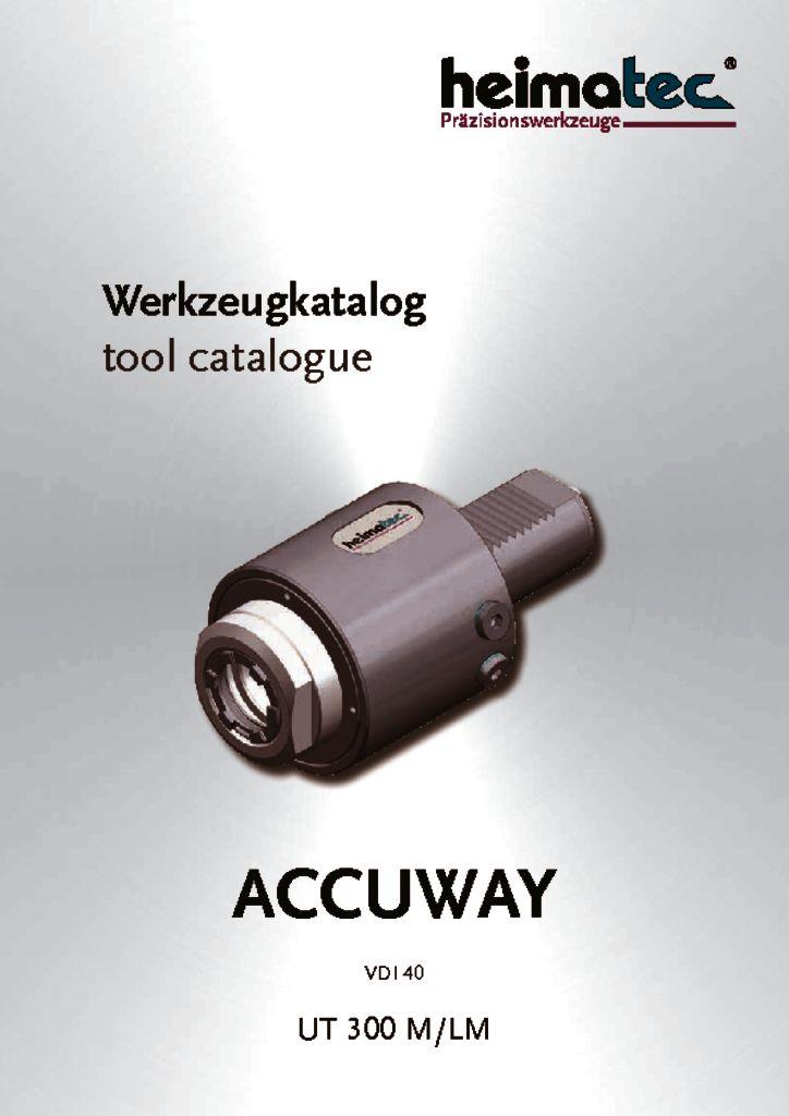 ACCUWAY UT 300 M-LM, VDI 40