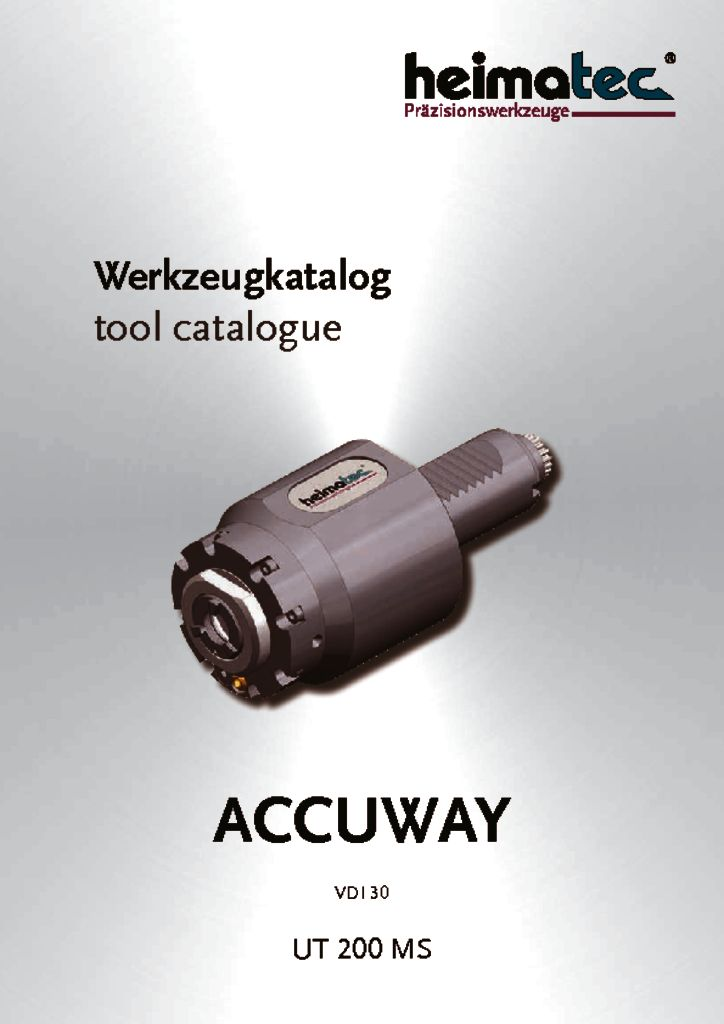 thumbnail of ACCUWAY_UT_200_MS_,_VDI_30_heimatec_tool_catalogue