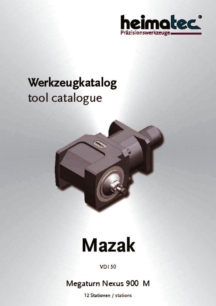 Mazak MN 900 – 12 Stationen, VDI 50