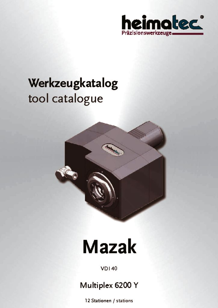 Mazak MP 6200 – 12 Stationen, VDI 40