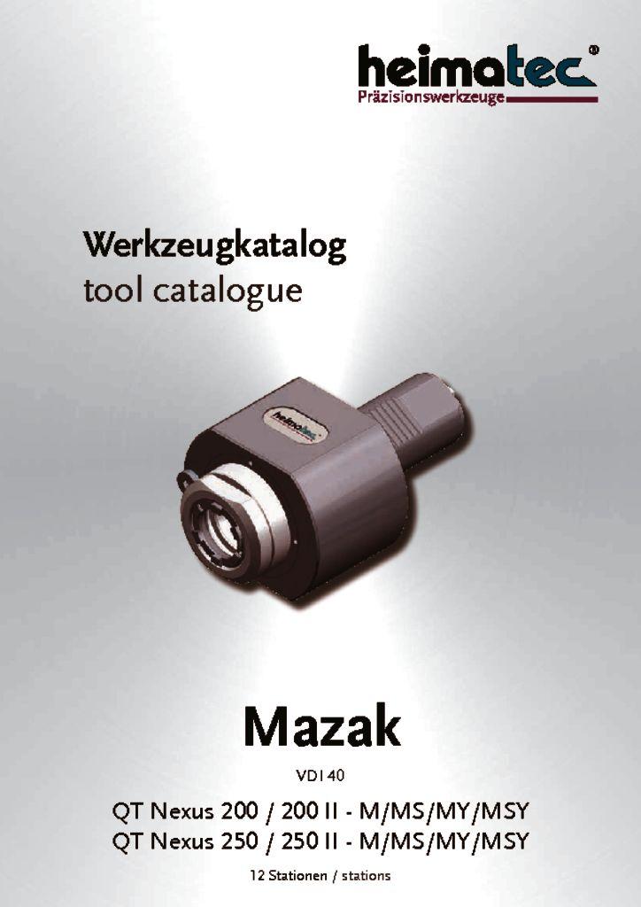 Mazak QTN 200 250 – 12 Stationen, VDI 40