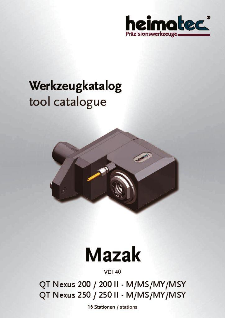 Mazak QTN 200 250 – 16 Stationen, VDI 40
