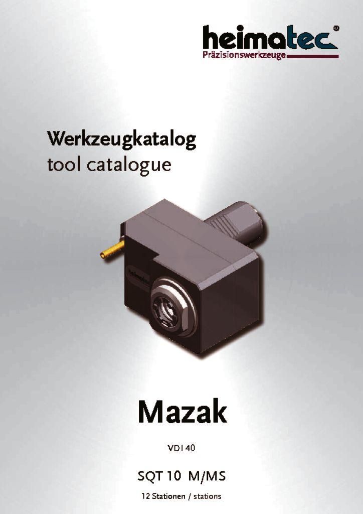 Mazak SQT 10 – 12 Stationen, VDI 40
