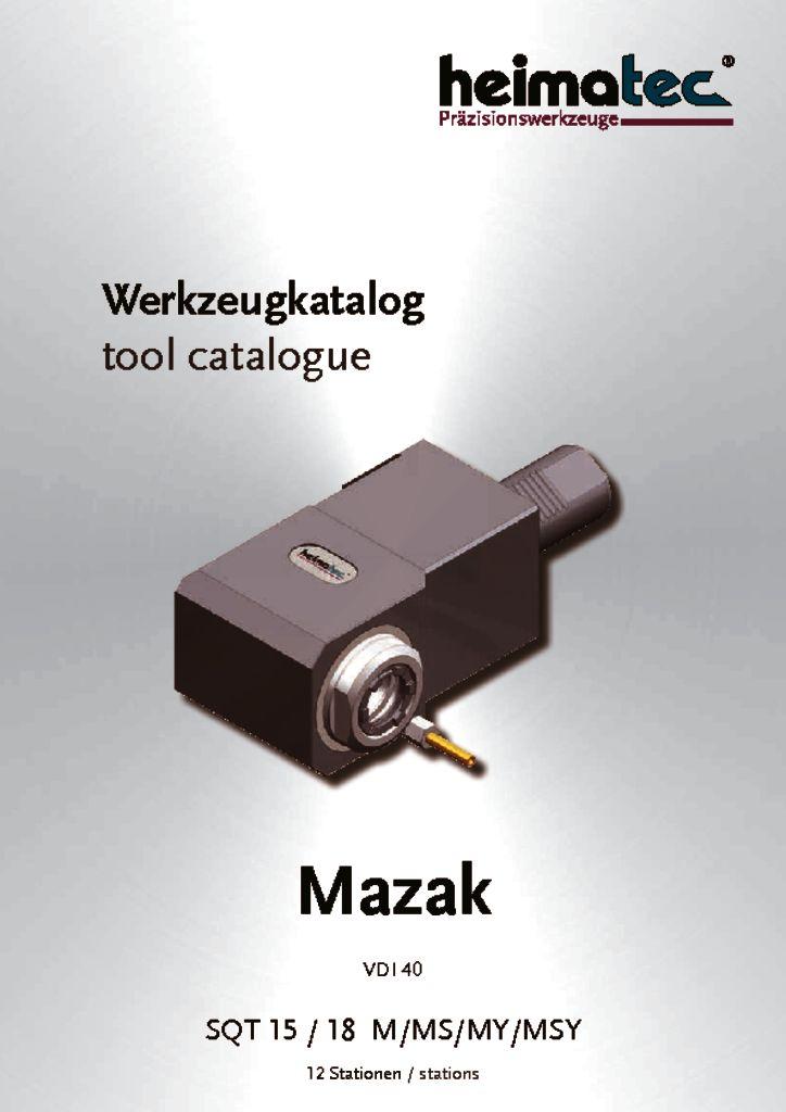 Mazak SQT 15 18 – 12 Stationen, VDI 40