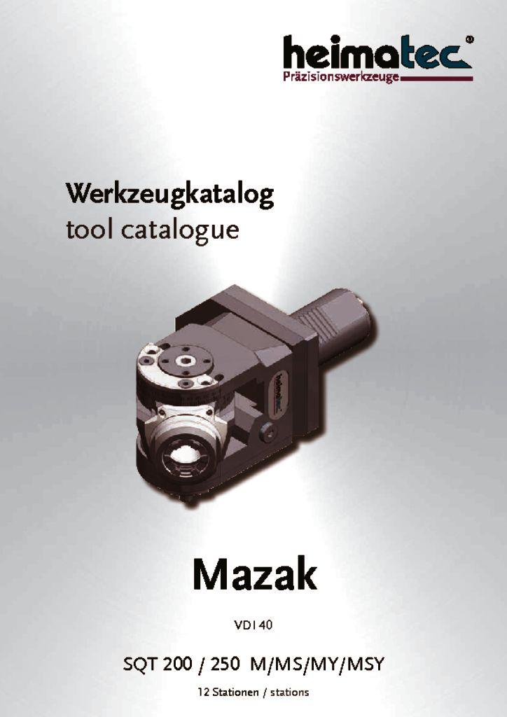 Mazak SQT 200 250 – 12_Stationen, VDI 40