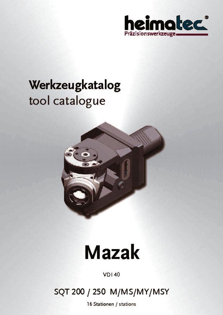 Mazak SQT 200 250 – 16 Stationen, VDI 40
