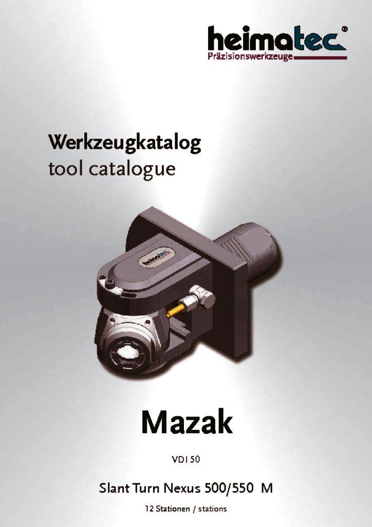 Mazak STN 500 550 – 12 Stationen, VDI 50