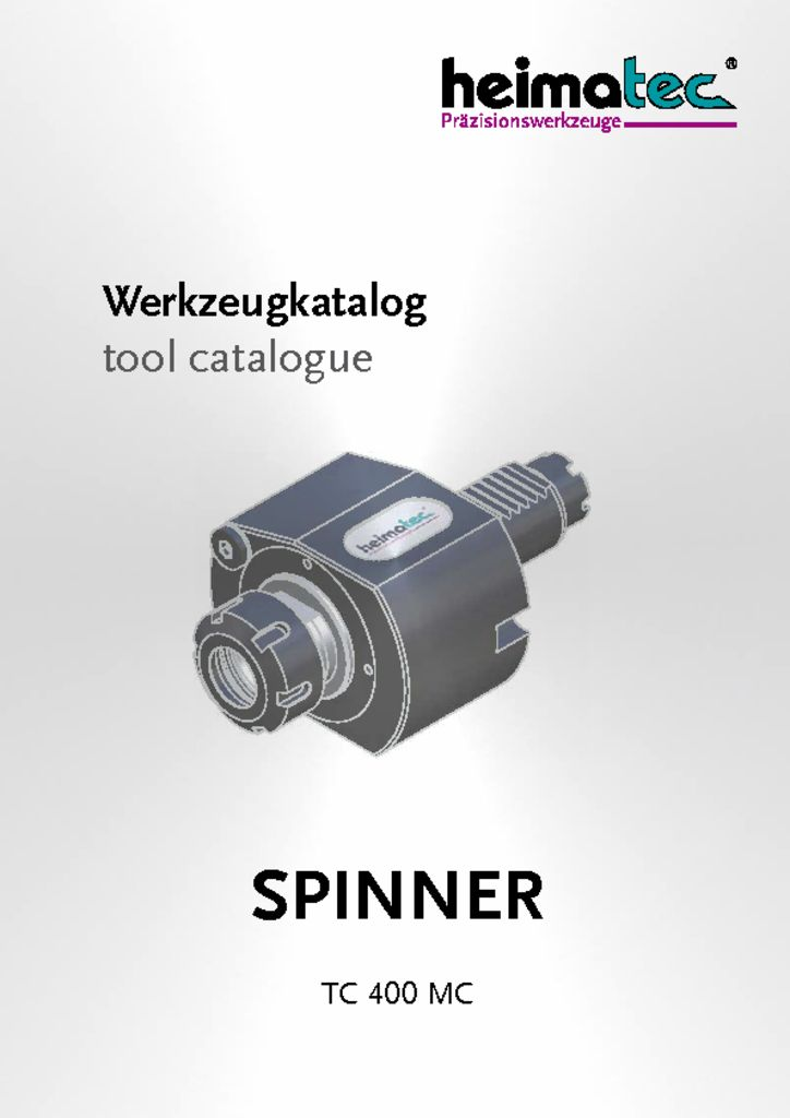 thumbnail of SPINNER_TC_400_MC_heimatec_tool_catalogue