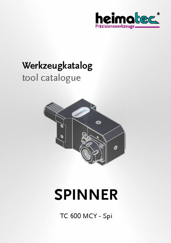 thumbnail of SPINNER_TC_600_MCY_Spi_heimatec_tool_catalogue
