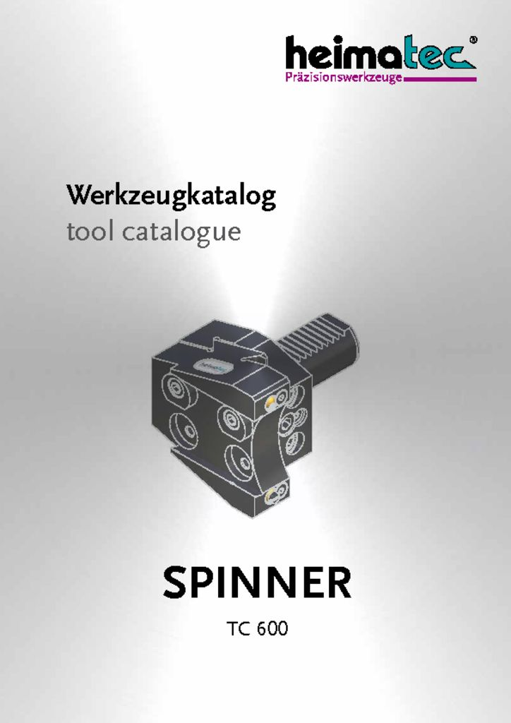 thumbnail of SPINNER_TC_600_heimatec_tool_catalogue