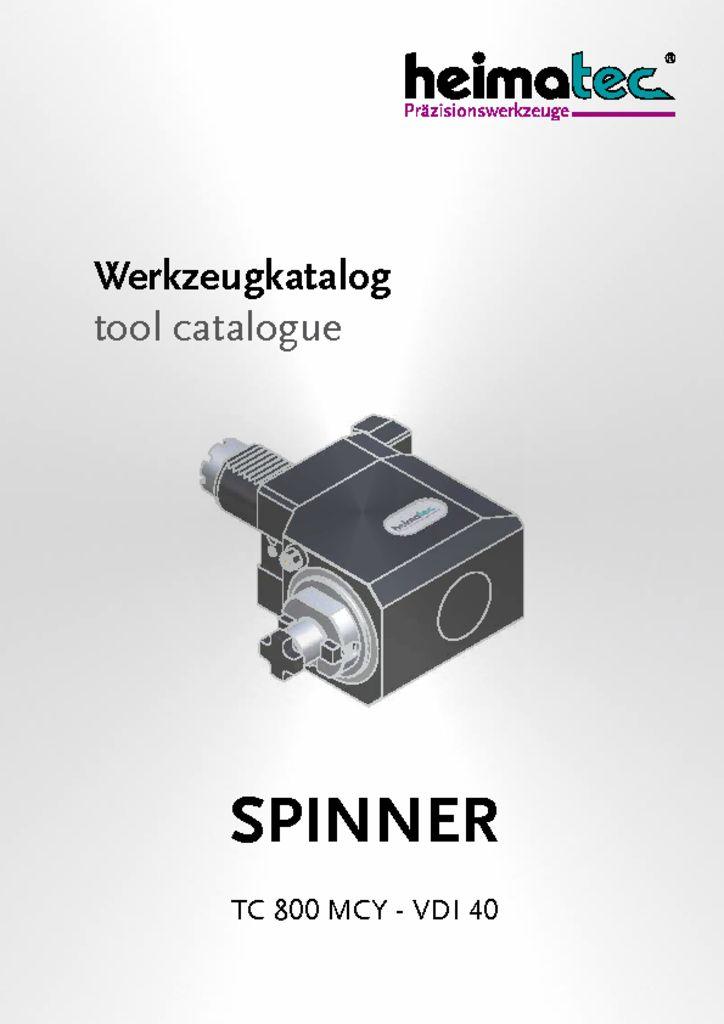 thumbnail of SPINNER_TC_800_MCY_VDI_40_heimatec_tool_catalogue