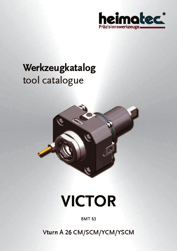 VICTOR Vturn A 26 – CM SCM YCM YSCM