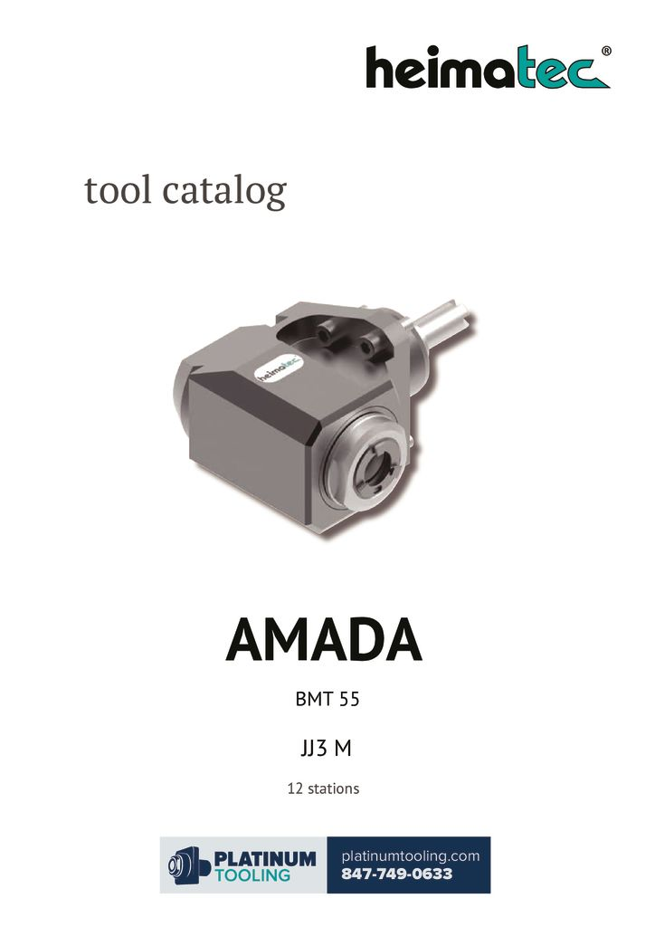thumbnail of Amada JJ3 M BMT 55 Heimatec Catalog