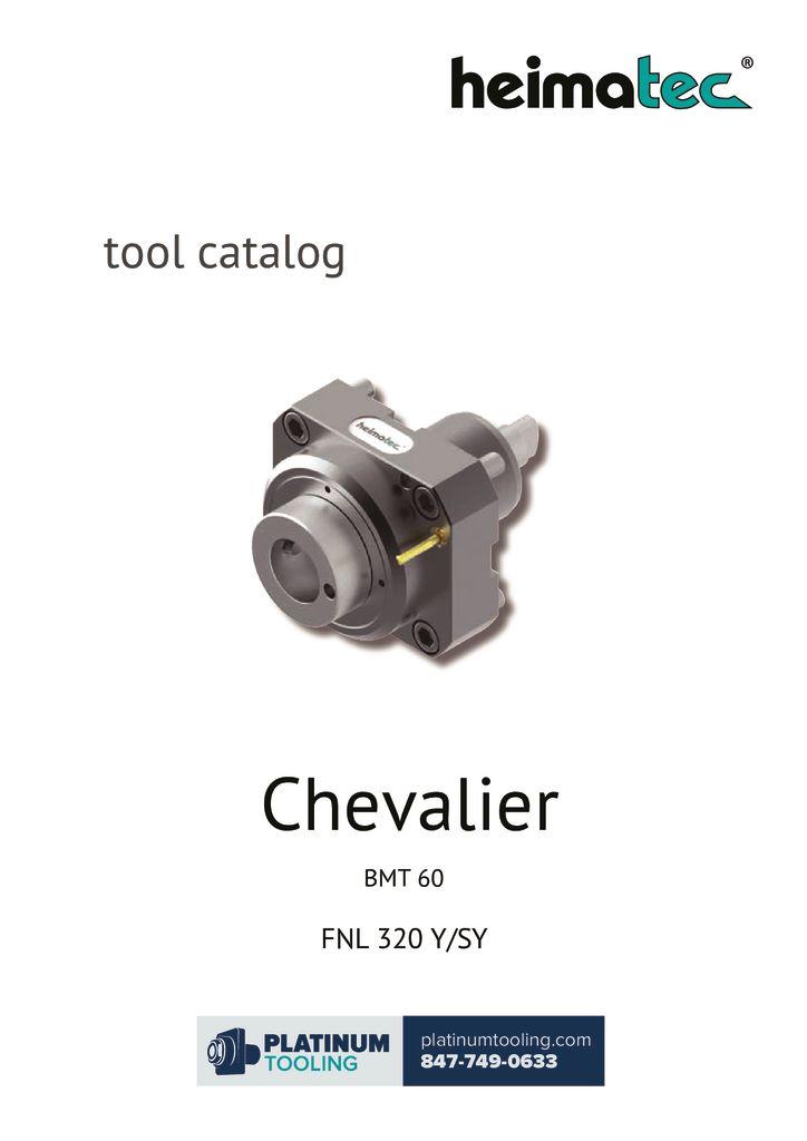 thumbnail of Chevalier FNL 320 Y-SY Heimatec Catalog