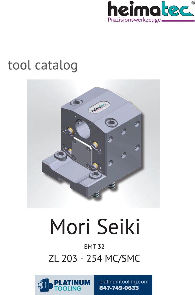 DMG Mori ZL 203-254 MS-SMC BMT 32 Heimatec Catalog for Live and Static Tools