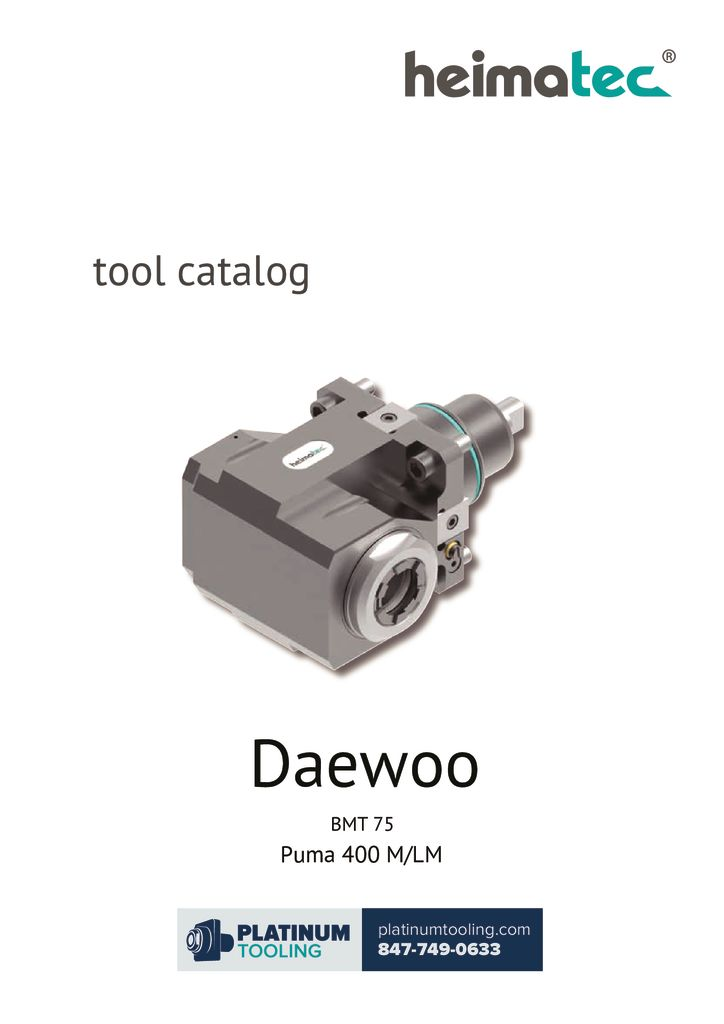 thumbnail of Daewoo Puma 400 M-LM BMT 75 Heimatec Catalog