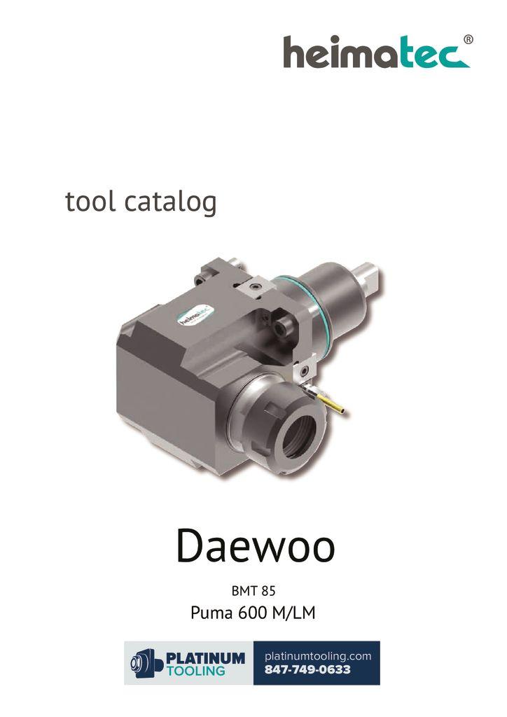thumbnail of Daewoo Puma 600 M-LM BMT 85 Heimatec Catalog