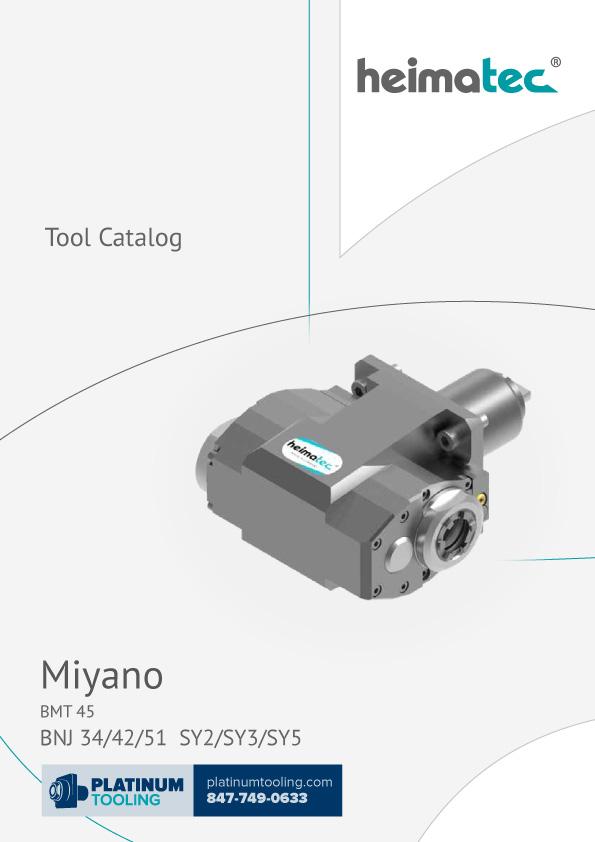 Miyano BNJ 34-42-51 SY2-SY3-SY5 BMT 45 Heimatec Catalog for Live and Static Tools