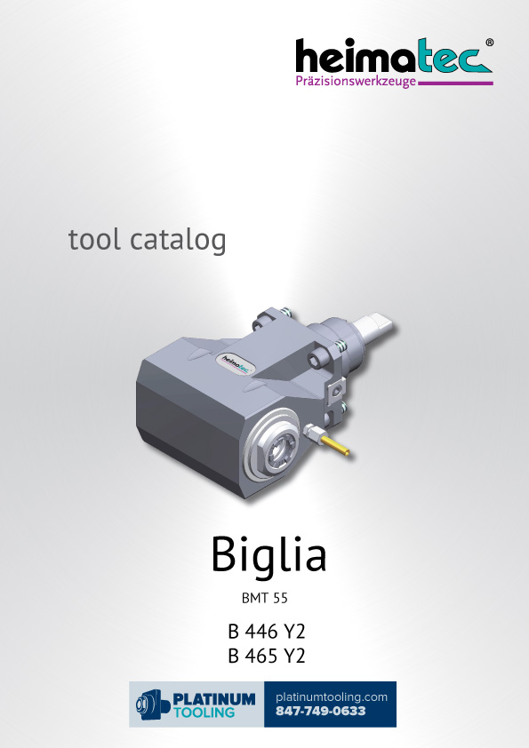 Biglia B 446-465 Y2 BMT 55 Heimatec Catalog for Live and Static Tools