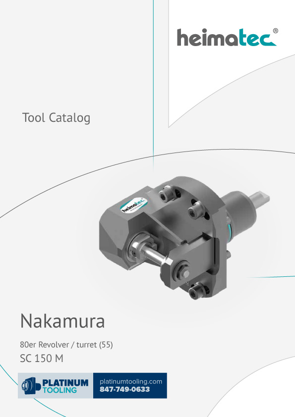 Nakamura SC 150 M BMT 55 Heimatec Catalog for Live and Static Tools