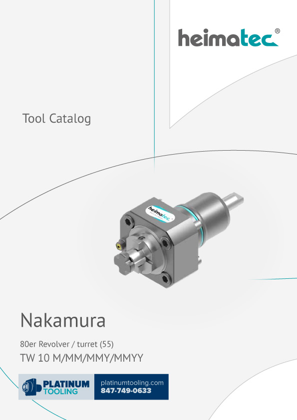 Nakamura TW 10 M-MM-MMY-MMYY BMT 55 Heimatec Catalog