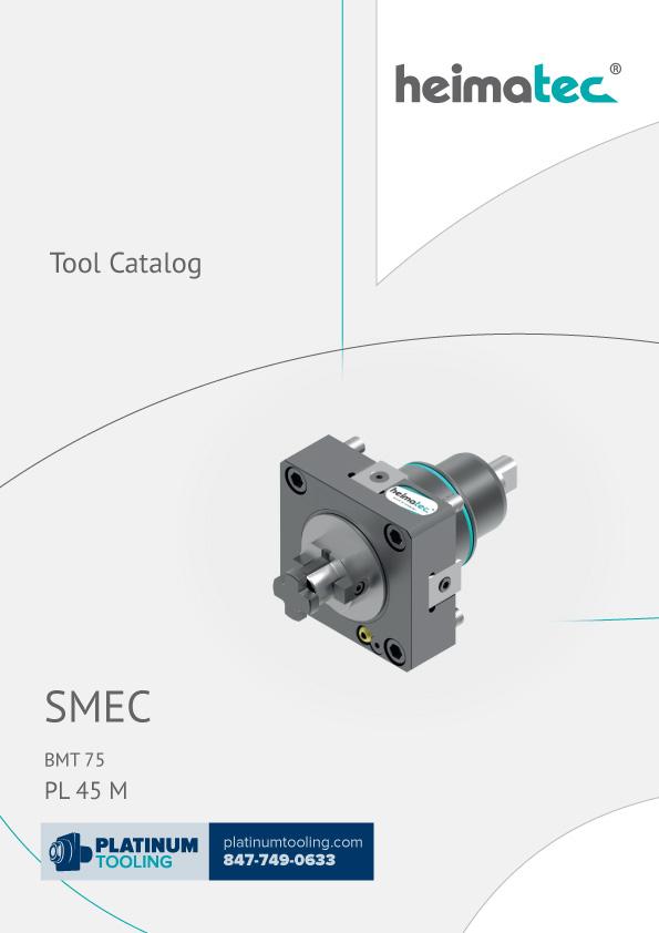 SMEC PL 45 M BMT 75 Heimatec Catalog for Live and Static Tools