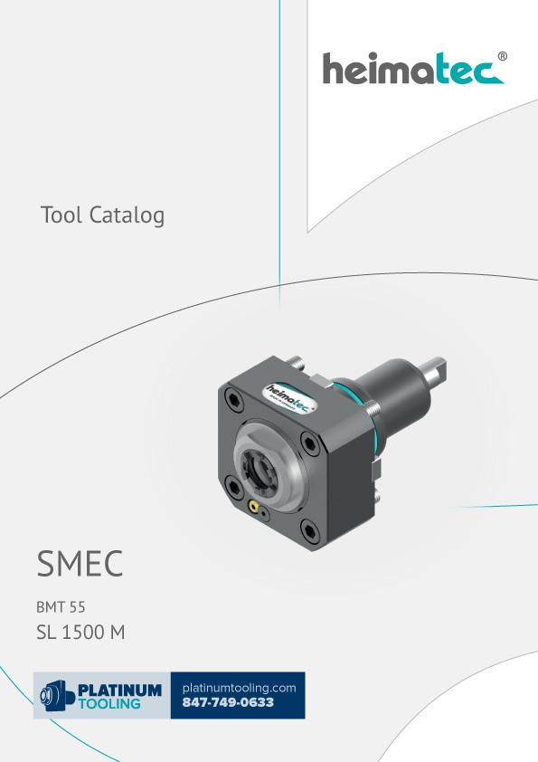 SMEC SL 1500 M BMT 55 Heimatec Catalog for Live and Static Tools