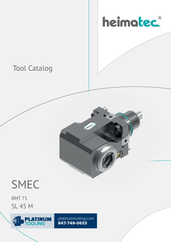 SMEC SL 45 M BMT 75 Heimatec Catalog for Live and Static Tools