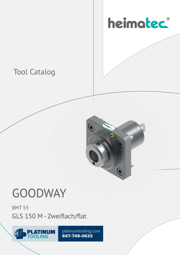 Goodway GLS 150 M BMT 45 Heimatec Catalog for Live and Static Tools